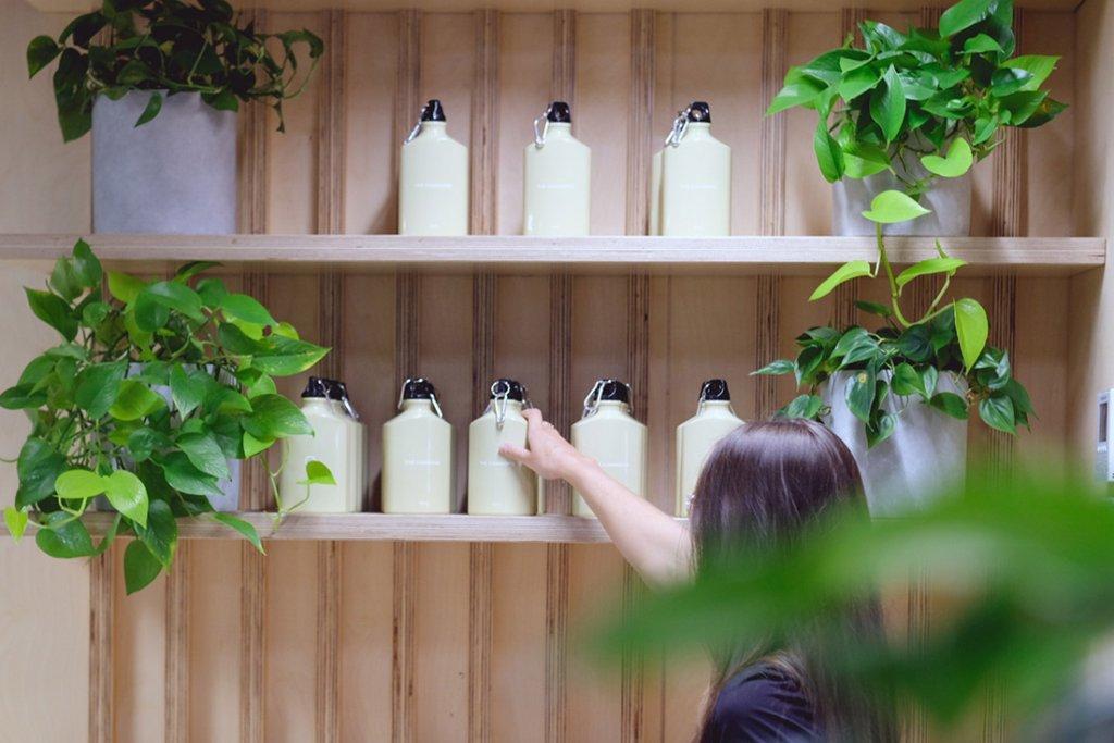 Eco-Friendly Workspace